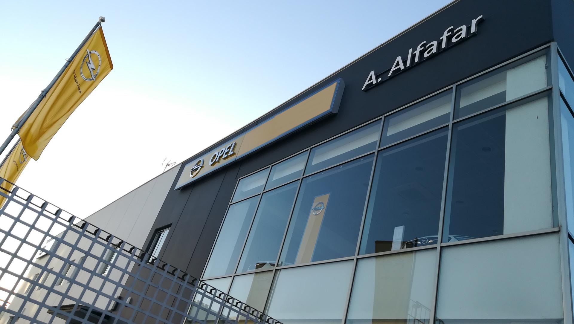 fachada nueva Opel Automoviles Alfafar