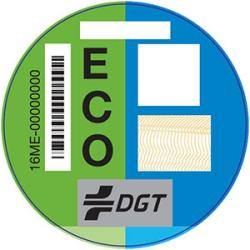 etiqueta ECO DGT coches GLP