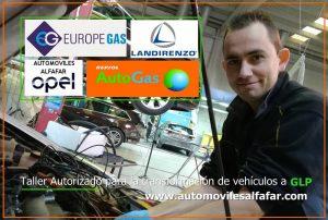 transformar coches de gasolina a Autogas GLP