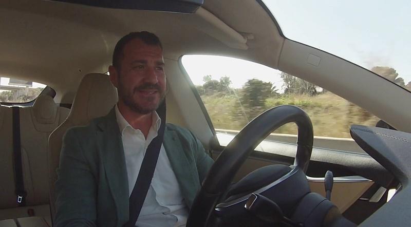 conducir un tesla model S en Valencia Prueba de conduccion