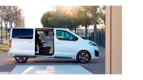 nueva Opel Zafira Life doble puertas correderas