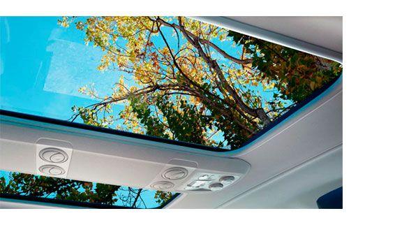 techo panoramico de serie en la nueva zafira life