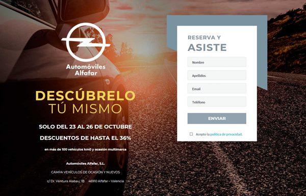 ventas privadas automoviles alfafar inscripcion