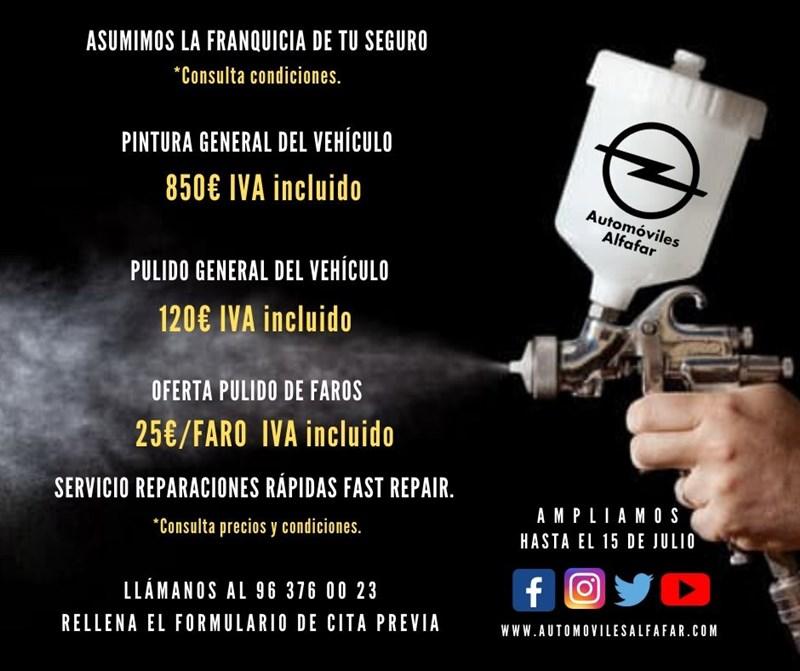 ofertas en chapa pintura automoviles Alfafar Valencia