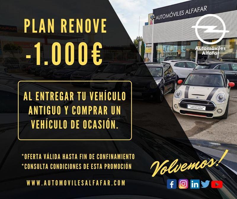 plan renove descuento 1000 euros vehiculos ocasion