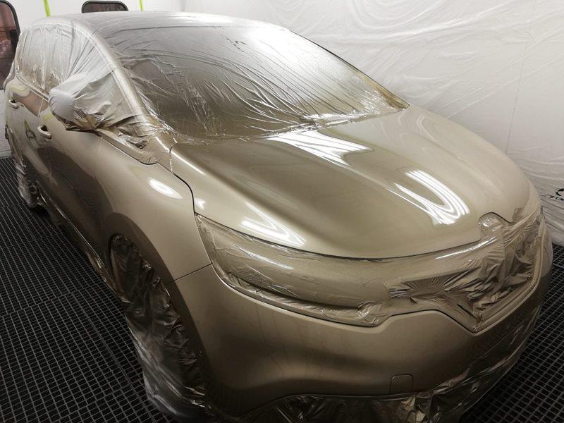 alto brillo pintura automovil cromax